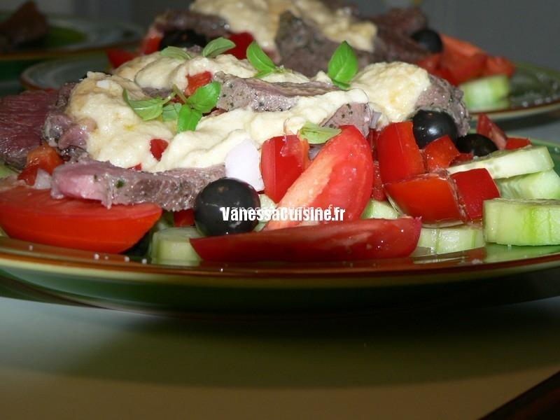 Exquise salade grecque