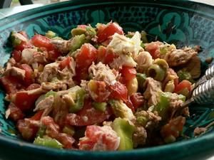 Salade de thon à la tunisienne