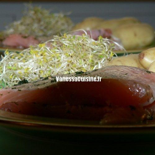 recette de saumon en gravlaax