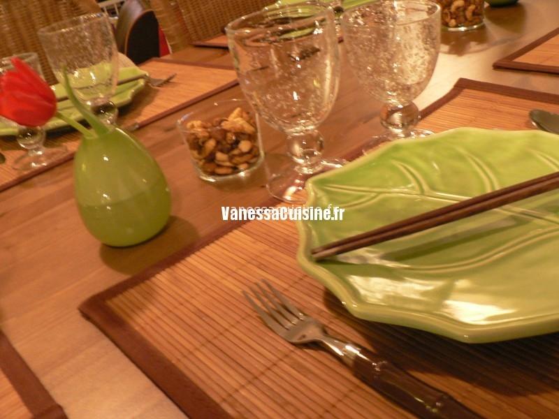 le repas thaie