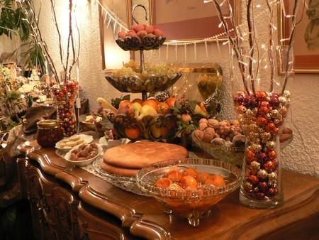 Le buffet des 13 desserts en Provence