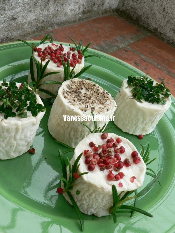 Nice goat cheeses