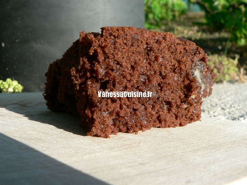 cake chocolat et dattes