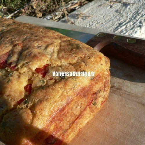 recette de cake au thon et aux poivrons