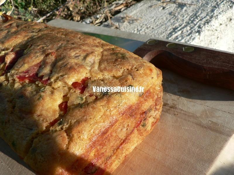 recette de cake de thon et aux poivrons