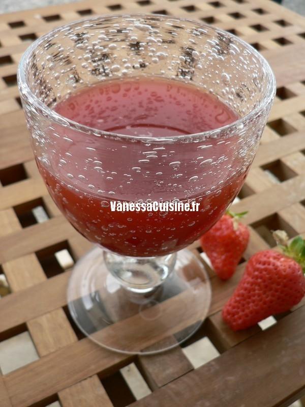 bulles framboises - fraises