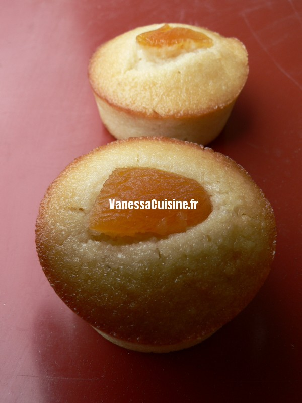 adorables financiers à la crème de calisson