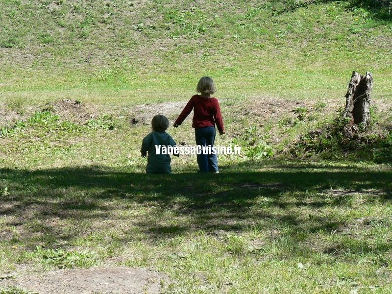 photo de mes filles, petites, Anaé et Ysé