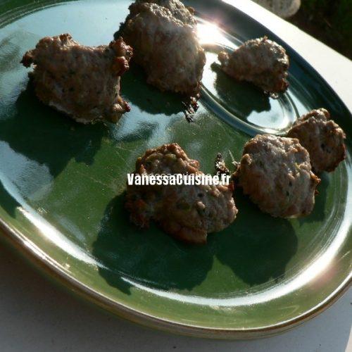 recette de boulettes de viande thaïes
