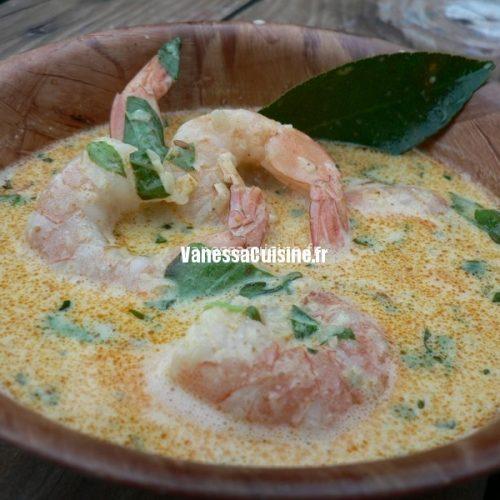 recette de déjeuner thaï