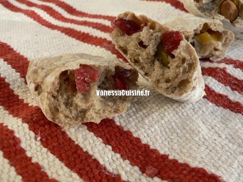 recette de pain aux fruits secs