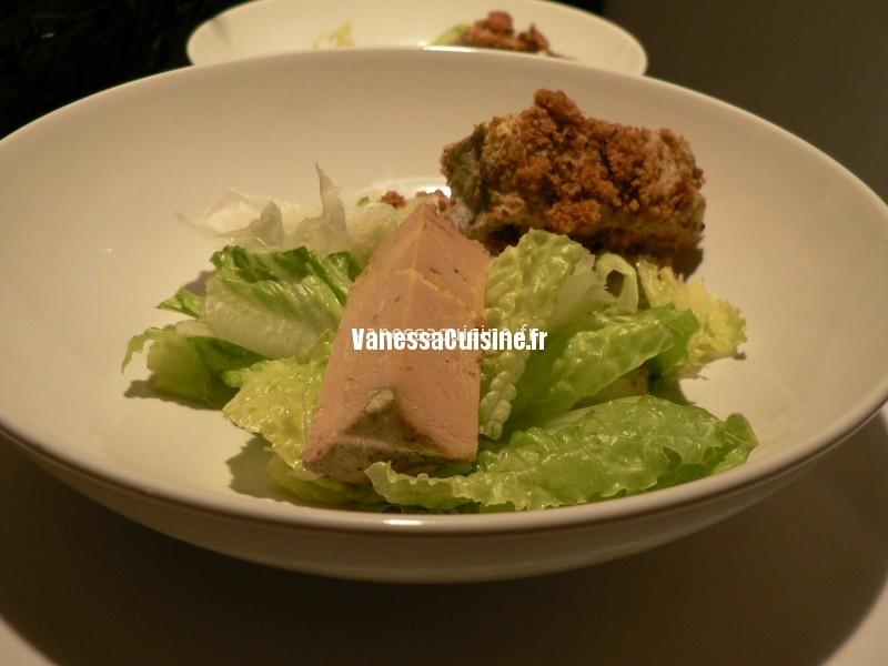 Un dîner dans le Sud Ouest : fingers de foie gras, parmentier de confit de canard, ...