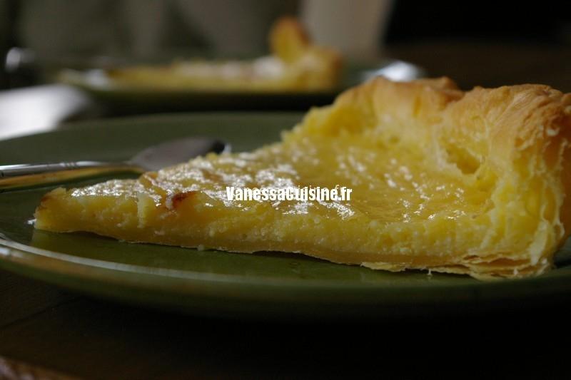 tarte douce au citron et au mascarpone