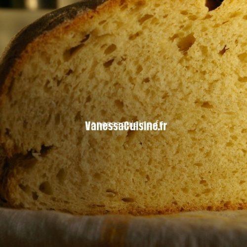 pain à la semoule de blé