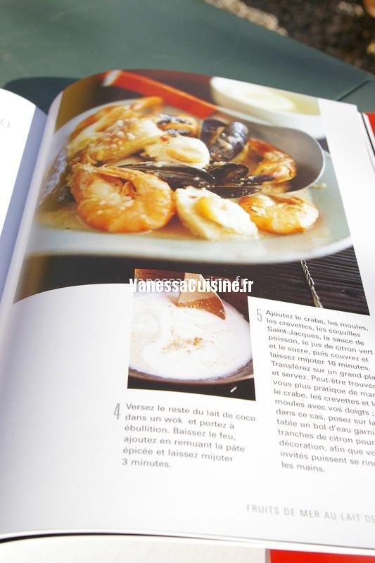 fruits de mer au lait de coco, Ken Hom