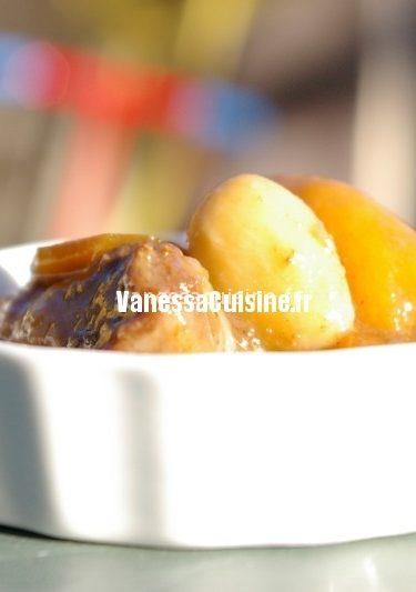 recette de daube de sanglier au Porto et fruits de Noël