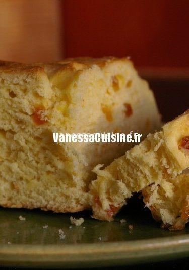 recette de brioche aux agrumes et à la fleur d'oranger