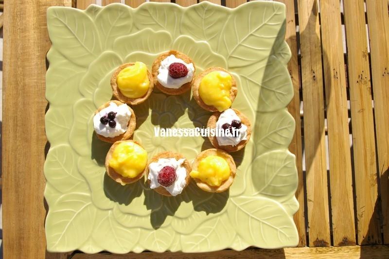 Tartelettes au curd de mandarine