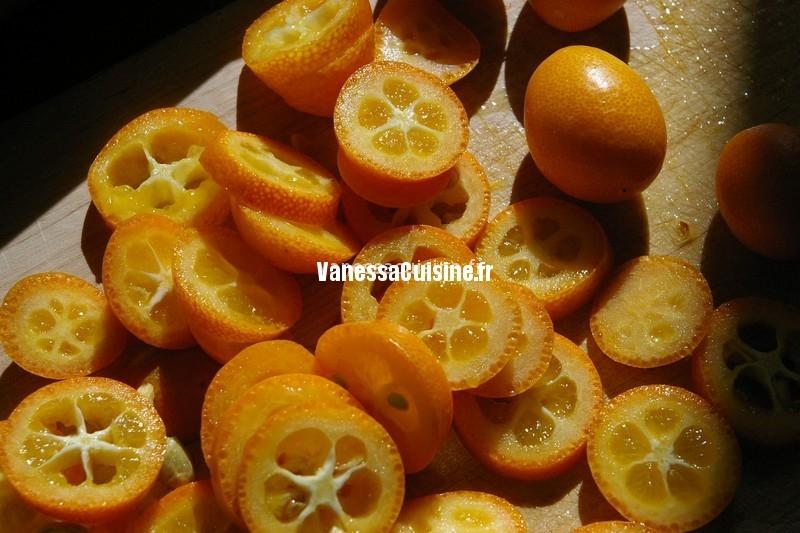 crevettes confites aux kumquats