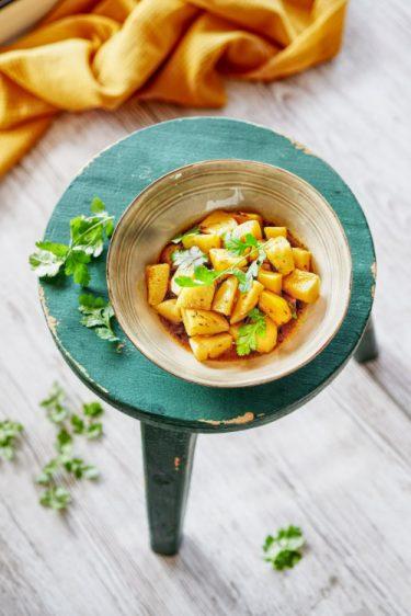 recette de curry de pommes de terre