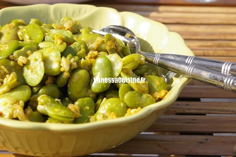 recette de fèves à la thaïe