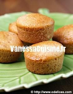 Petits cakes confiture de citron et de gingembre
