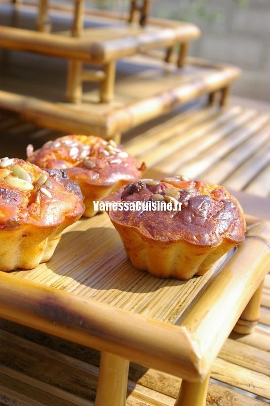 Rhum arrangé aux épices et mini cakes au chorizo