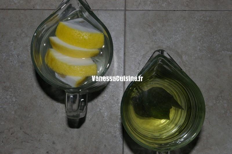 recette d'eau de cédrat