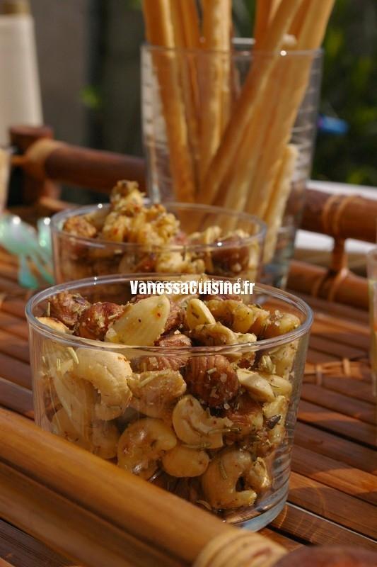 recette de fruits secs au romarin
