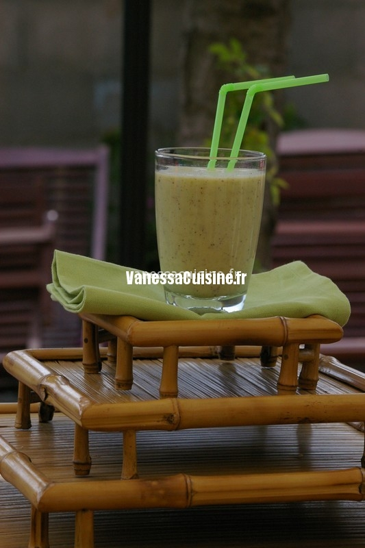 recette de smoothie kiwi granny