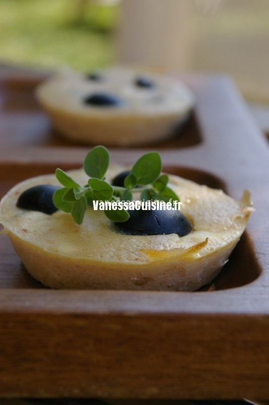 recette de clafoutis chèvre olives