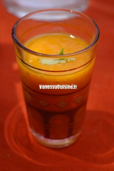 recette de gaspacho orange