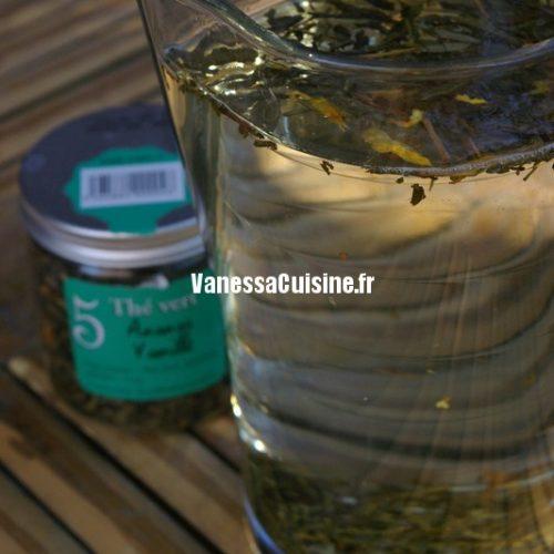 Recette pour faire infuser le thé glacé à froid