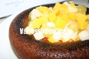 savarin aux fruits de nos vergers