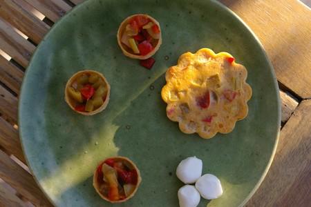 Clafoutis aux poivrons
