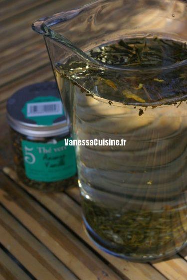 recette d'infusion de thé glacé