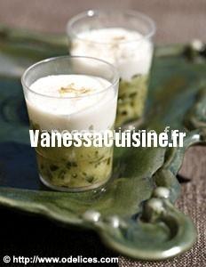 Verrines courgettes pamesan, by José Maréchal