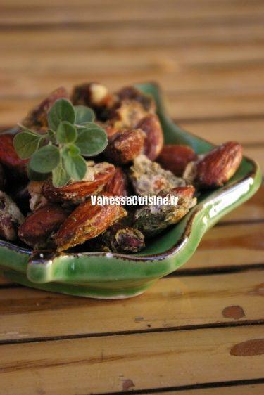 amandes grillees thym 1
