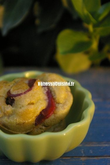 recette de muffins au magret et pistaches