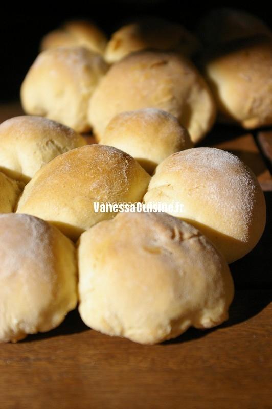 pain marguerite à la vanille