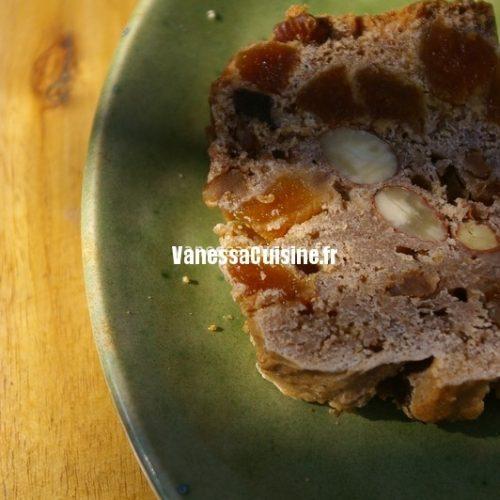 recette de cake aux fruits secs
