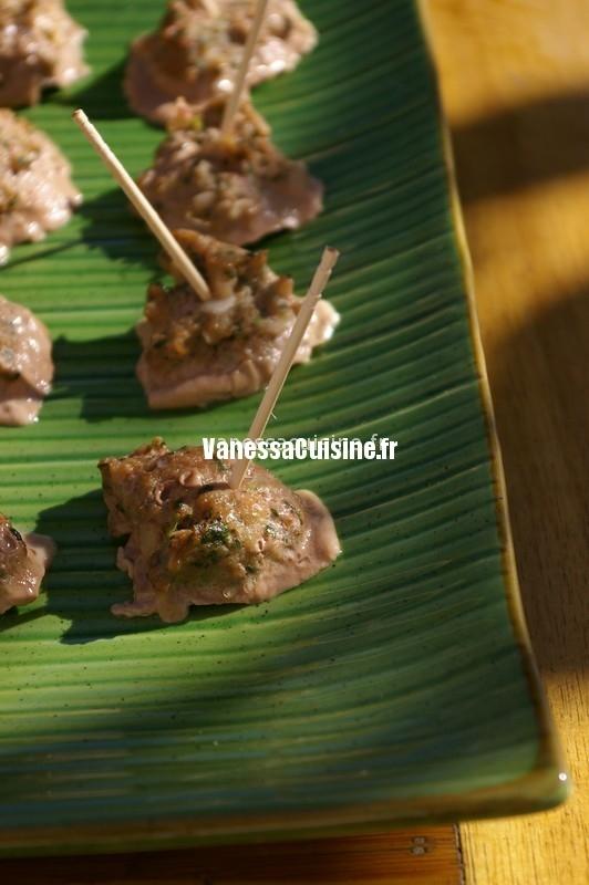 recettes de boulettes de viande thaïes