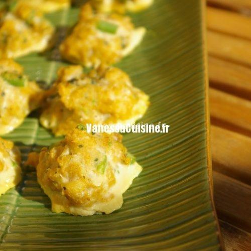 recettes thaïlandaises de croquettes de poissons thaïes Tod mun pla