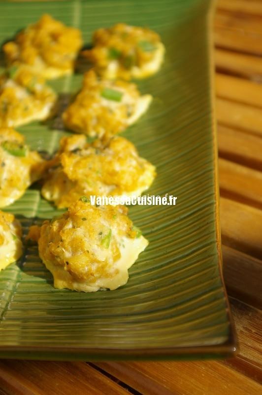 recette de croquettes de poissons thaïes Tod mun pla