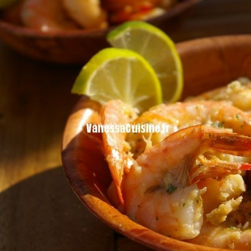 crevettes frites thaies