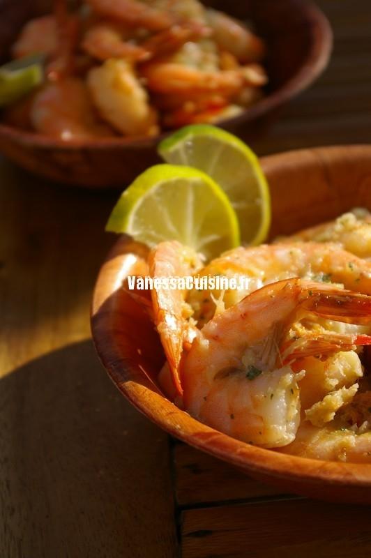 recette de crevettes frites Ghoon thod