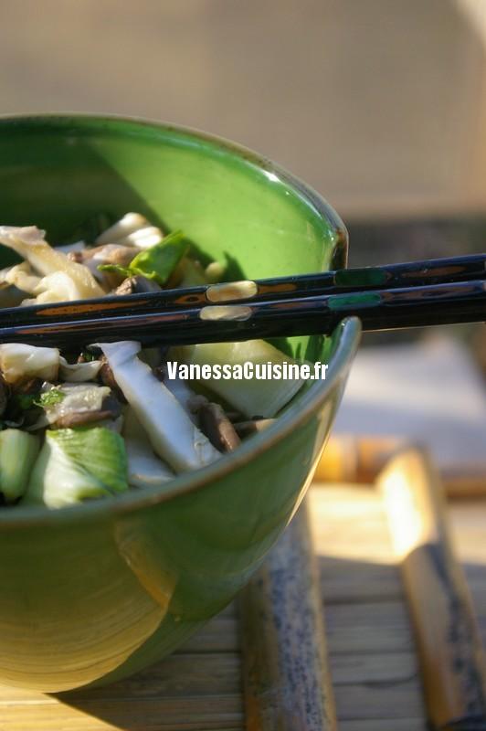 les légumes à l'asiatique du w'end