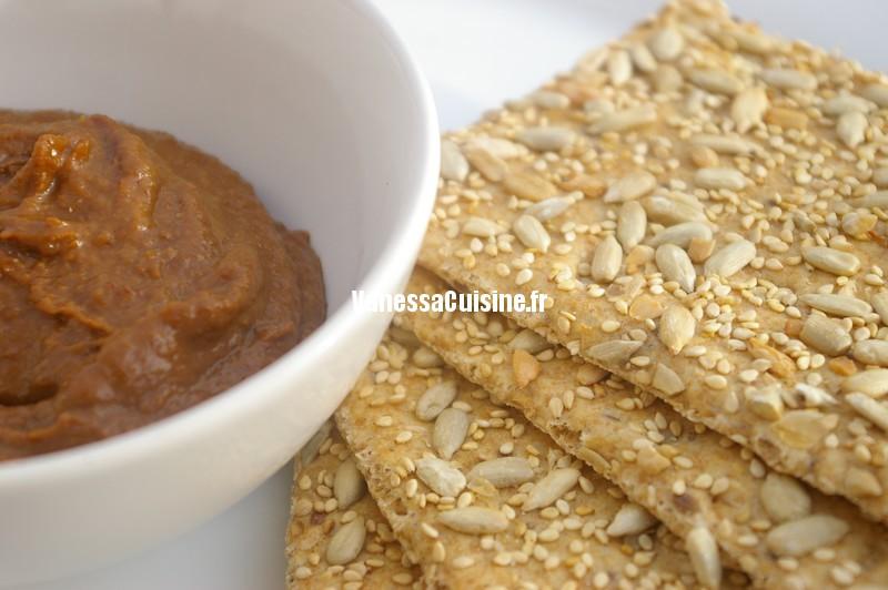 recette de dip miso de purée de sésame