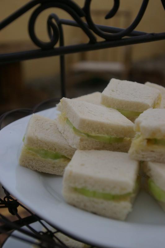 recette de sandwiches concombre