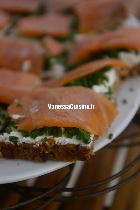recette de smorebrod au saumon